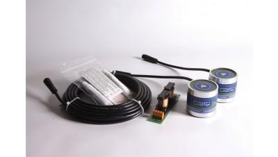 Ultrasonic antifouling kit for boats